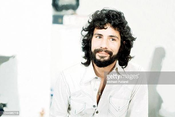 Cat Stevens portrait London March 1974