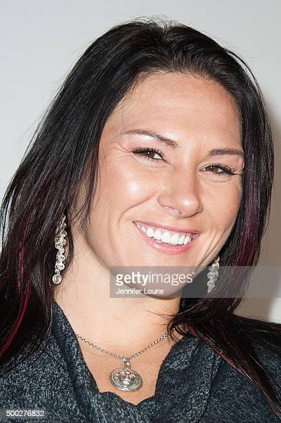 Cat Zingano arrives at TBoz Unplugged at The Avalon on December 6 2015 in Hollywood California