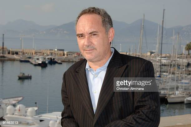 Catalan chef Ferran Adria attends a photocall for 'Canal Cultura' during the 25th MIPCOM on October 5, 2009 in Cannes, France.