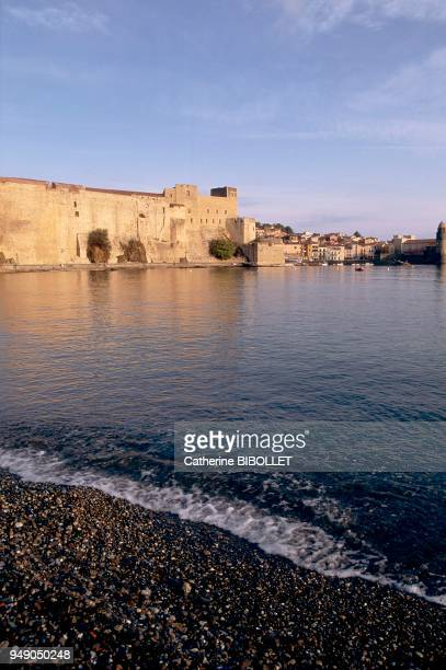 Collioure, the royal castle on the seafront. It served as a summer residence for the kings of Mallorca in the XIIIth and XIVth centuries before the...