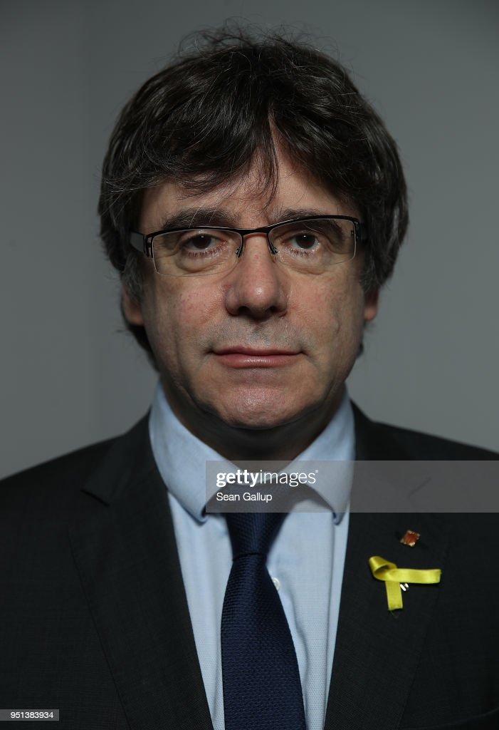 Carles Puigdemont Portrait Session