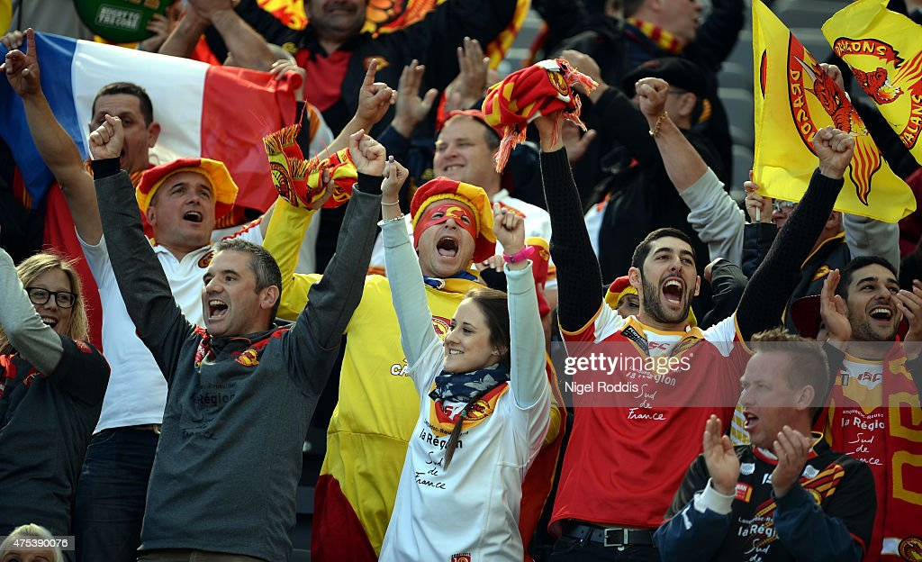 Catalans Dragons v Huddersfield Giants - Magic Weekend : News Photo