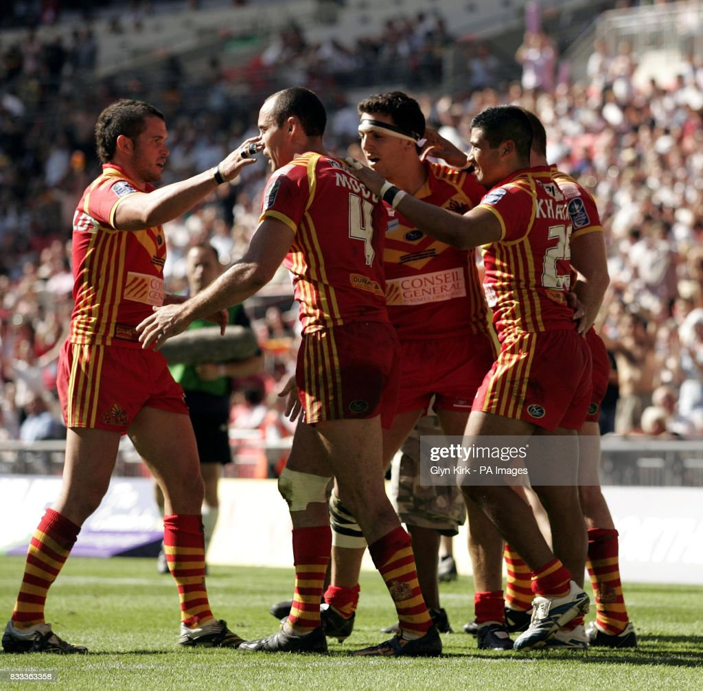 Rugby League - Carnegie Challenge Cup Final - Catalans Dragons v St Helens - Wembley Stadium : News Photo