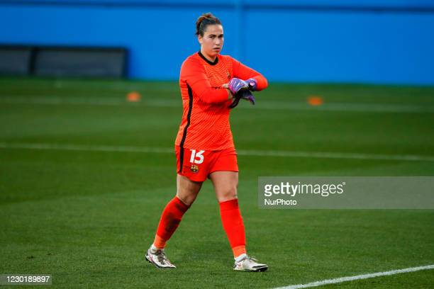 Catalina Coll of FC Barcelona during the UEFA Champions League Women match between PSV v FC Barcelona at the Johan Cruyff Stadium on December 16,...