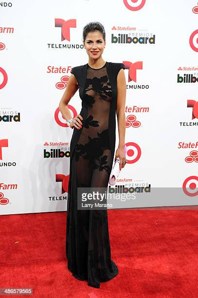 Catalina Denis attends the 2014 Billboard Latin Music Awards at Bank United Center on April 24, 2014 in Miami, Florida.