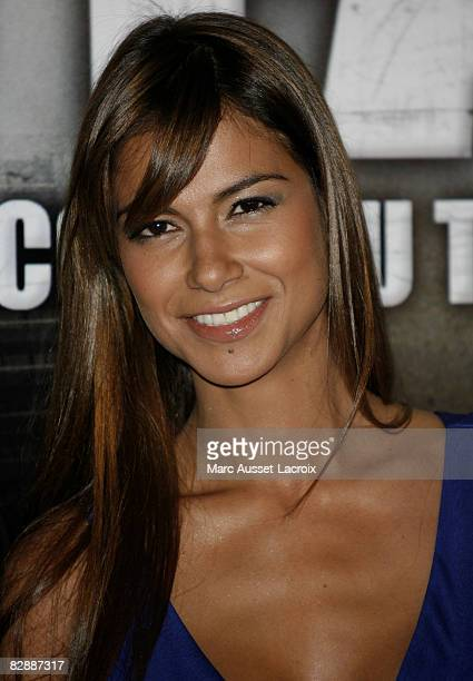 """Catalina Denis attends the """" Go Fast"""" premiere at Le Grand Rex on September 18, 2008 in Paris, France."""