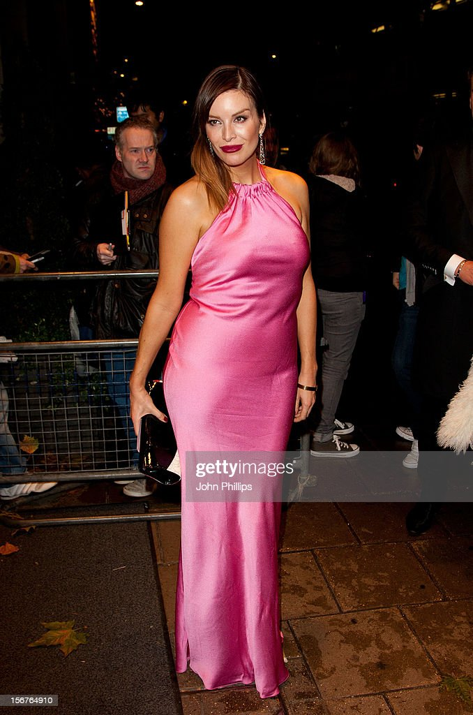 Catalina Guirado attends The Amy Winehouse Foundation Ball on November 20, 2012 in London, England.