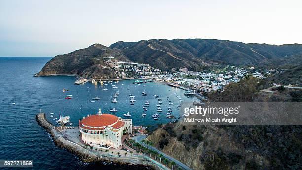 Catalina Island's famous landmark, the Casino.