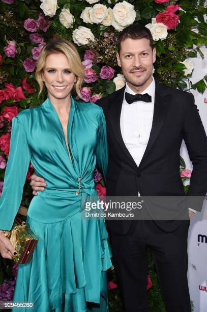 Catalina Maya and Director at Maestro Cares Foundation Felipe Pimiento attend the Maestro Cares Third Annual Gala Dinner at Cipriani Wall Street on...
