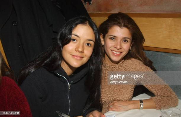 Catalina Sandino and Guilied Lopez during 2004 Park City New Line/Fine Line Party at Zoom in Park City Utah United States
