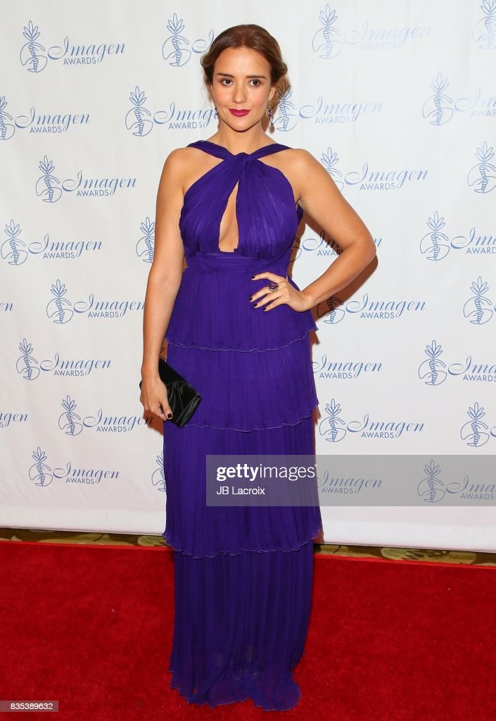 Catalina Sandino Moreno attends the 32nd annual Imagen Awards on August 18, 2017 in Los Angeles, California.