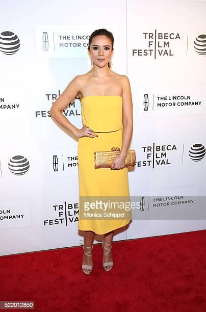 "Catalina Sandino Moreno attends the ""Custody"" Premiere - 2016 Tribeca Film Festival at BMCC John Zuccotti Theater on April 17, 2016 in New York City."