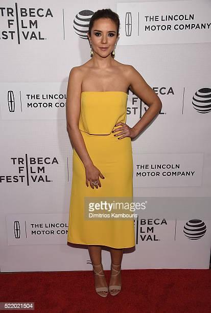 Catalina Sandino Moreno attends the 'Custody' Premiere 2016 Tribeca Film Festival at BMCC John Zuccotti Theater on April 17 2016 in New York City