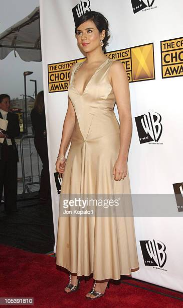 Catalina Sandino Moreno during 10th Annual Critics' Choice Awards Arrivals at Wiltern LG Theatre in Los Angeles California United States