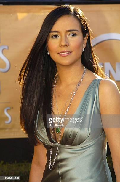 Catalina Sandino Moreno during 2005 Screen Actors Guild Awards Arrivals at The Shrine in Los Angeles California United States