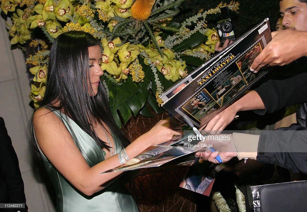 Catalina Sandino Moreno during 2005 Screen Actors Guild Awards - HBO Post SAG Awards Dinner at Spago Restaurant in Beverly Hills, California, United States.