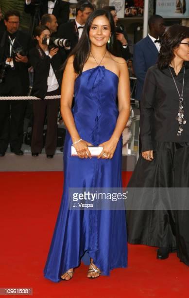 Catalina Sandino Moreno during 2006 Cannes Film Festival Paris Je T'aime Premiere at Palais Du Festival in Cannes France