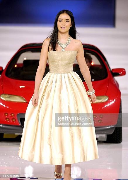 Catalina Sandino Moreno during 4th Annual ten Fashion Show Presented by General Motors Show in Los Angeles California United States