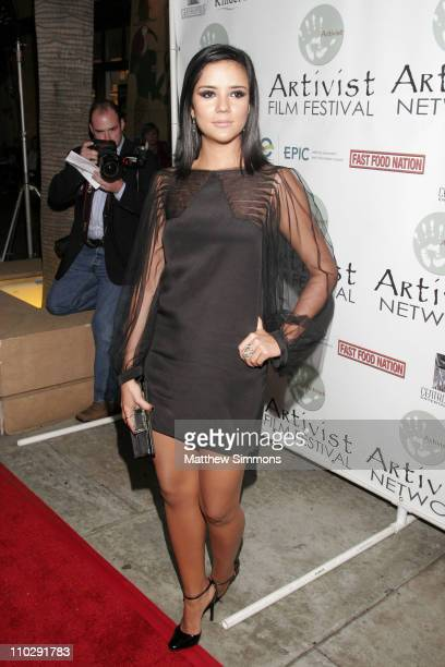 Catalina Sandino Moreno during Fox Searchlight Pictures Los Angeles Premiere of 'Fast Food Nation' Arrivals at Egyptian Theatre in Hollywood...
