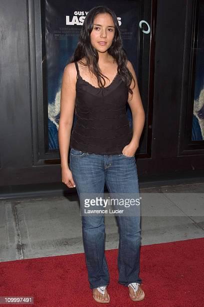 Catalina Sandino Moreno during Last Days New York City Premiere Arrivals at Sunshine Theater in New York City New York United States