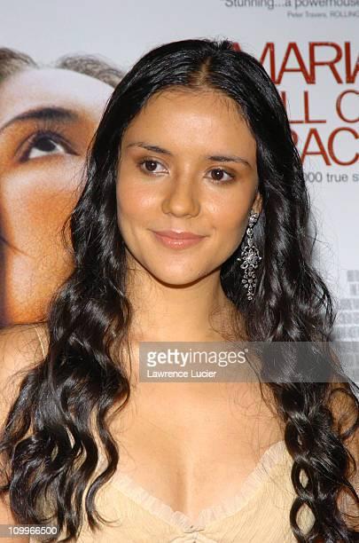 Catalina Sandino Moreno during Maria Full Of Grace New York Premiere at AMC Empire Theater in New York City New York United States