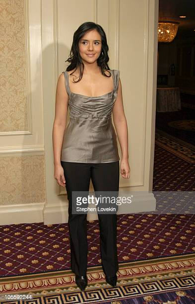 Catalina Sandino Moreno during The 70th Annual New York Film Critcs Circle Awards Inside at The Roosevelt Hotel in New York City New York United...