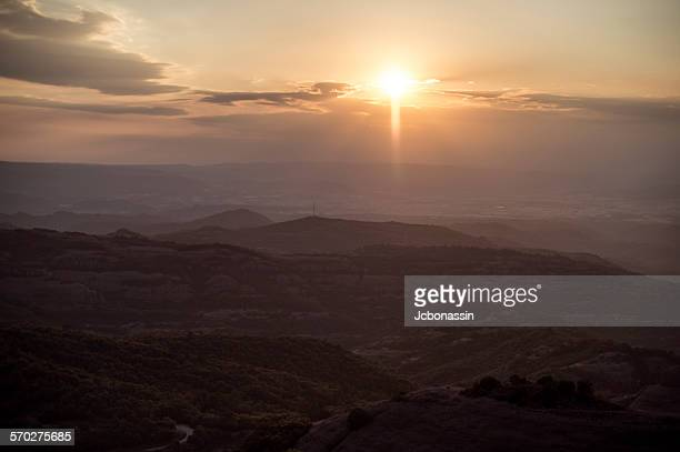 catalonia lanscape spain - jcbonassin stock pictures, royalty-free photos & images