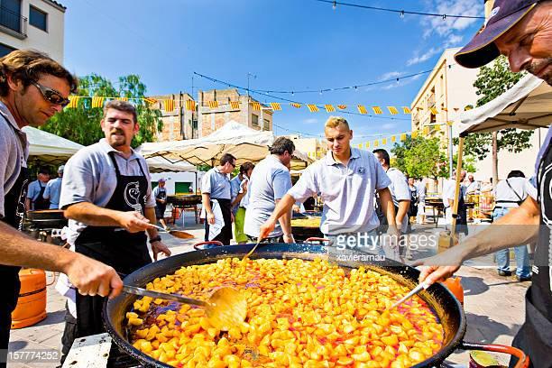 Catalonian Fideua festival