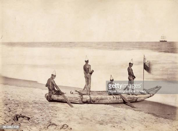 A Catamaran in Madras India 1870
