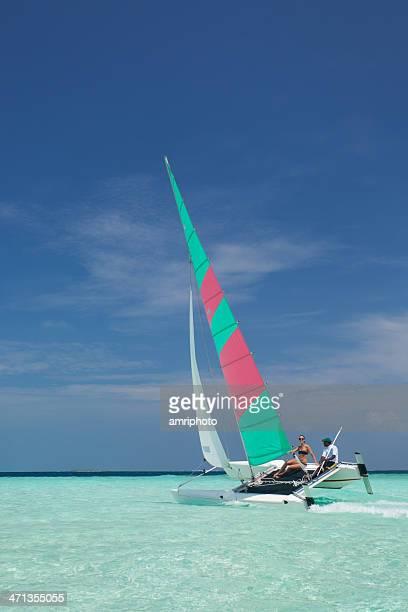 catamaran lagoon - catamaran stock photos and pictures