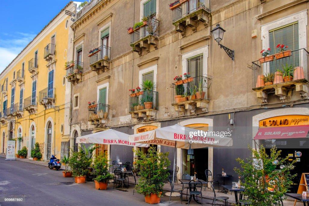 Altstadt von Catania - Sizilien, Italien : Stock-Foto