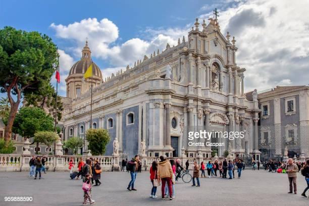 Catane, cathédrale Saint-Agatha - Sicile, Italie