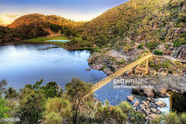 cataract gorge - launceston australia stock pictures, royalty-free photos & images