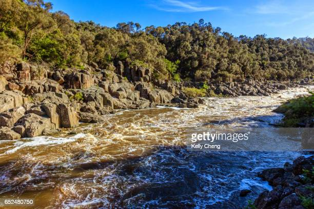 cataract gorge reserve - launceston australia stock pictures, royalty-free photos & images