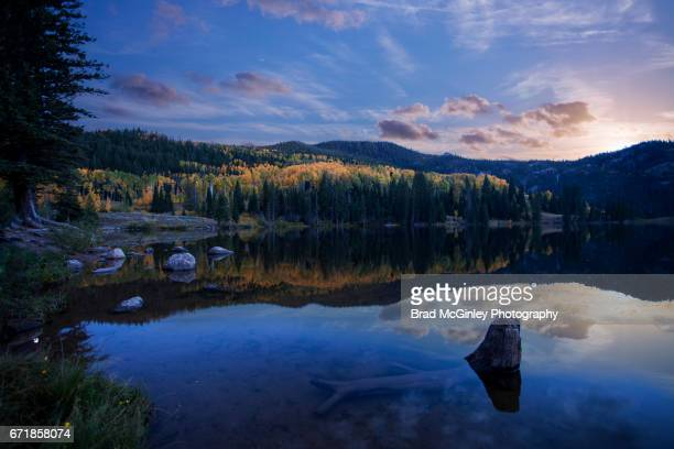 cataract lake - silverthorne stock photos and pictures