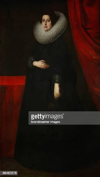 Catarina de Medici , wife of Ferdinand I, Duke of Mantua. Oil on canvas . 200 x 110 cm. [Katarina de Medici , Ehefrau von Ferdinand I., Herzog von...