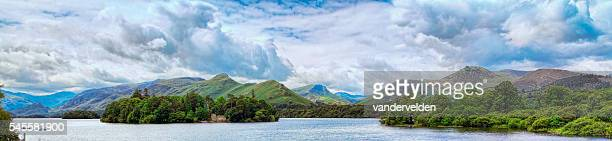Catbells Across Derwent Water In the Lake District