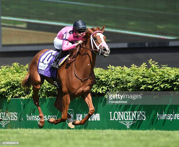 Catch A Glimpse with Florent Geroux wins the Edgewood on Kentucky Oaks Day at Churchill Downs on May 6 2016 in Louisville Kentucky