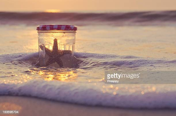 catch falling star - bethany beach stock photos and pictures