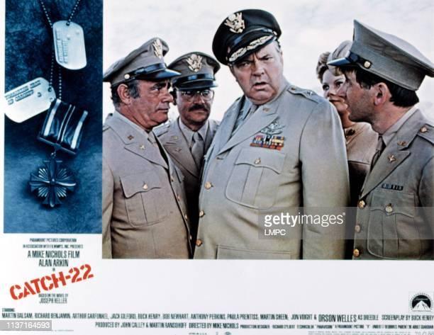 Catch22 poster Martin Balsam Buck Henry Orson Welles Susanne Benton Austin Pendleton 1970