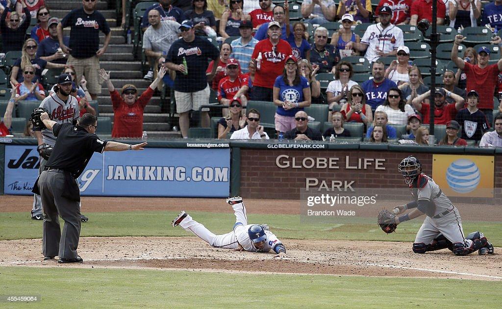 Atlanta Braves v Texas Rangers