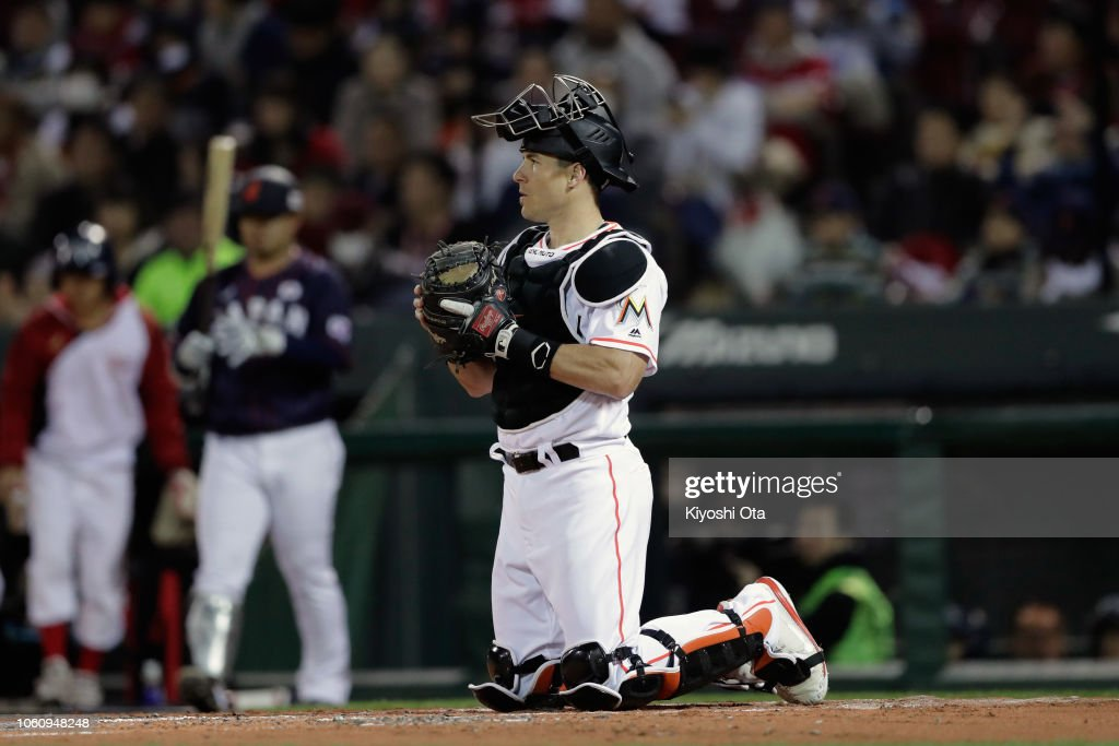 Japan v MLB All Stars  - Game 4 : News Photo