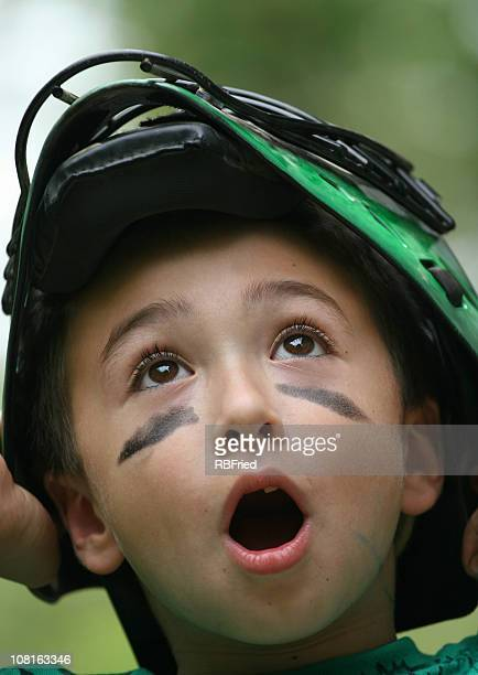 catcher - eye black stock photos and pictures