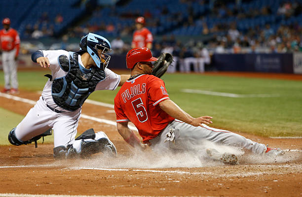 los angeles angels of anaheim v tampa bay rays photos and images