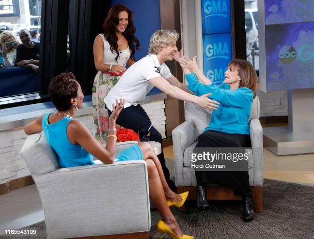 GMA catches up with Valerie Harper on GOOD MORNING AMERICA 5/13/14 airing on the ABC Television Network CHARLIE WHITE SHARNA BURGESS ROBIN ROBERTS...