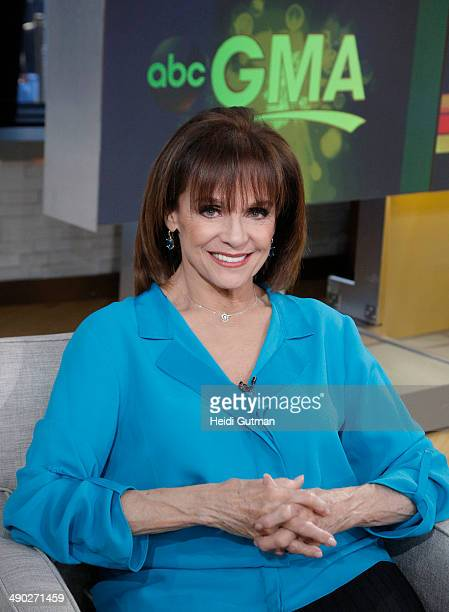 Catches up with Valerie Harper, on GOOD MORNING AMERICA, 5/13/14, airing on the Walt Disney Television via Getty Images Television Network.