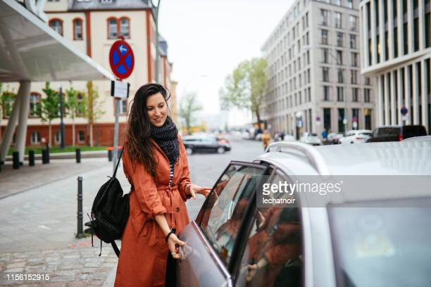 catching a ride share in Berlin