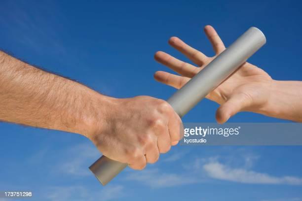 Fangen der baton