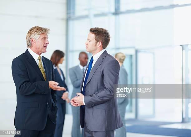 Treffen Sie sich nach einem meeting