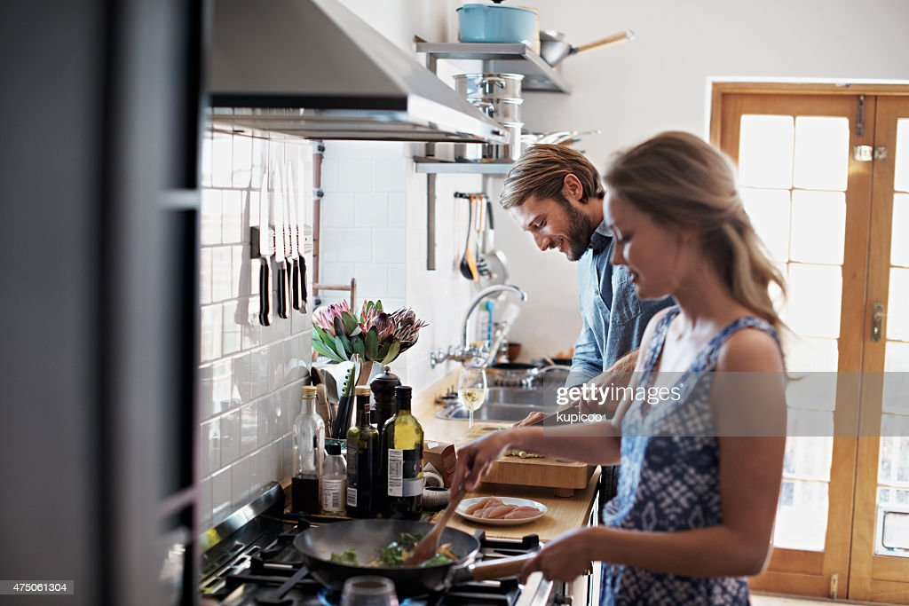 Catching up together over dinner : Stock Photo
